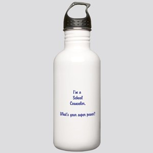 Im a School Counselor Water Bottle