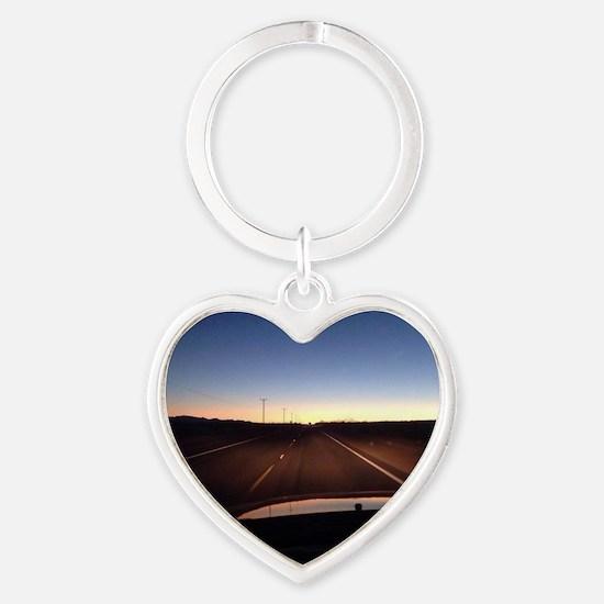 Unique Joshua tree Heart Keychain