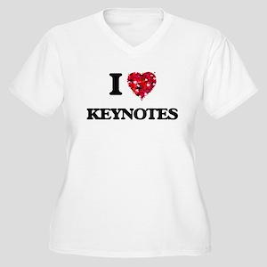I Love Keynotes Plus Size T-Shirt