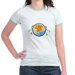 Summer Starfish Jr. Ringer T-shirt