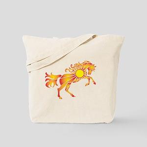 Sun Horse Tote Bag