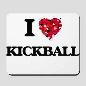 I Love Kickball Mousepad