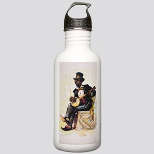 African American banjo Stainless Water Bottle 1.0L
