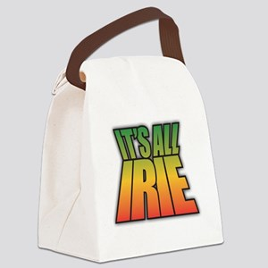 It's All IRIE Canvas Lunch Bag