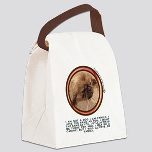 PEKEGRAPHICS KNOWLEDGE  FROM THE  Canvas Lunch Bag