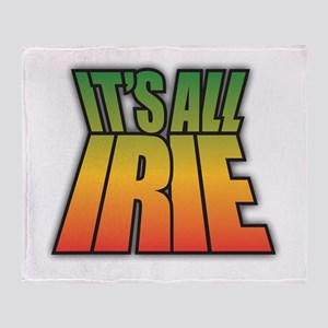 It's All IRIE Throw Blanket
