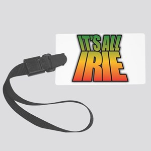 It's All IRIE Large Luggage Tag