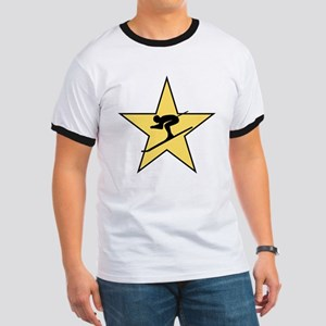 Skiing Star T-Shirt