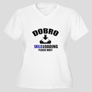 Dobro Skills Load Women's Plus Size V-Neck T-Shirt