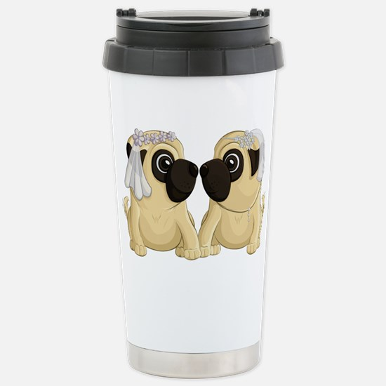 Pug Brides Travel Mug