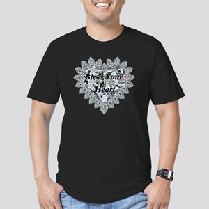 Bless Your Heart Men's Fitted T-Shirt (dark)