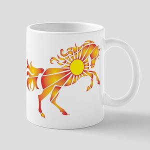 Sun Horse Art Mugs