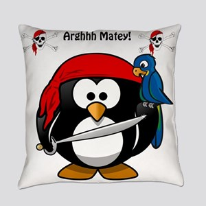 Penguin The Pirate Everyday Pillow