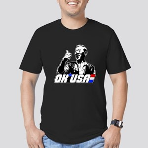 OK USA Men's Fitted T-Shirt (dark)