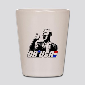 OK USA Shot Glass