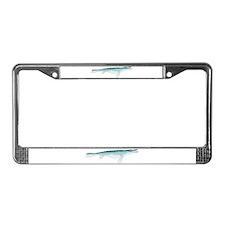 Mosasaurus License Plate Frame