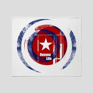 Havana Life Throw Blanket