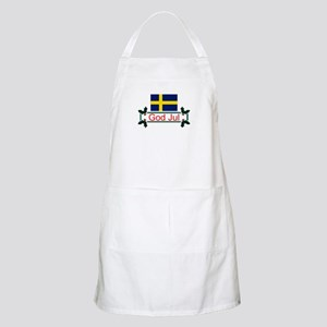 Swedish God Jul BBQ Apron
