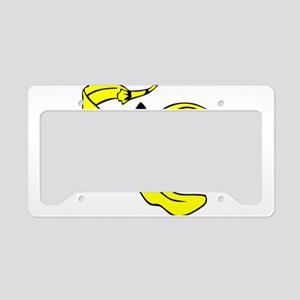 Banana Peel License Plate Holder
