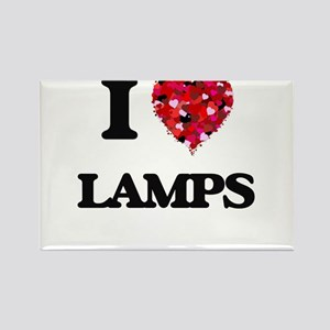 I Love Lamps Magnets