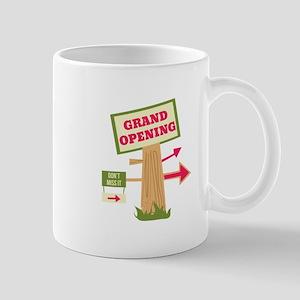 Grand Opening Mugs