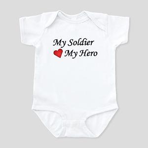 My Soldier My Hero US Army Infant Bodysuit