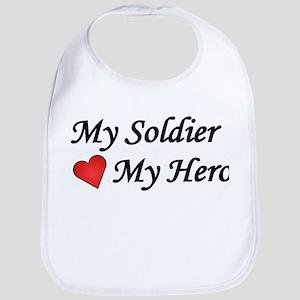My Soldier My Hero US Army Bib