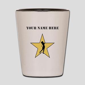 Golf Star (Custom) Shot Glass