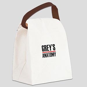 Grey's Anatomy Canvas Lunch Bag