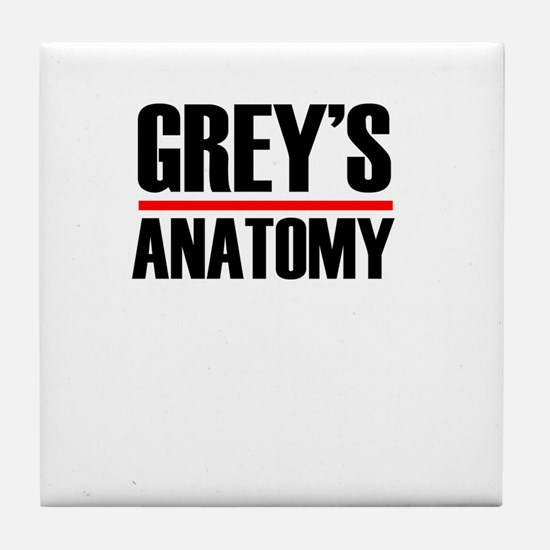 Grey's Anatomy Tile Coaster