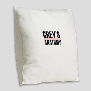 Grey's Anatomy Burlap Throw Pillow