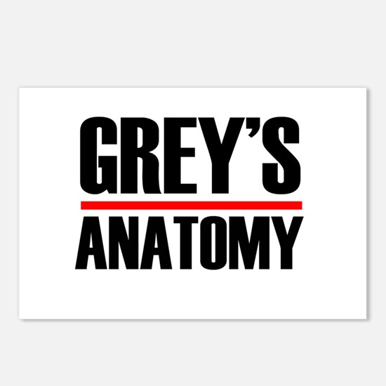 Grey's Anatomy Postcards (Package of 8)