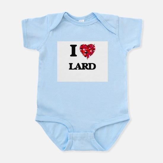 I Love Lard Body Suit