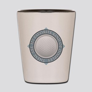 Golf - My Favorite Kind of Dimples Shot Glass