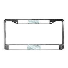 Mosasaurus Pattern License Plate Frame