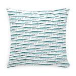 Mosasaurus Pattern Everyday Pillow