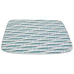 Mosasaurus Pattern Bathmat