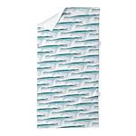 Mosasaurus Pattern Beach Towel
