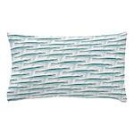 Mosasaurus Pattern Pillow Case