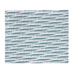 Mosasaurus Pattern Throw Blanket