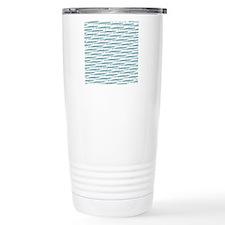 Mosasaurus Pattern Travel Mug
