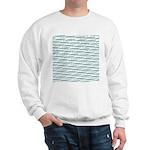 Mosasaurus Pattern Sweatshirt