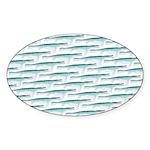 Mosasaurus Pattern Sticker