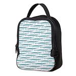 Mosasaurus Pattern Neoprene Lunch Bag