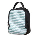 Mosasaurus Pattern Neoprene Lunch Bag
