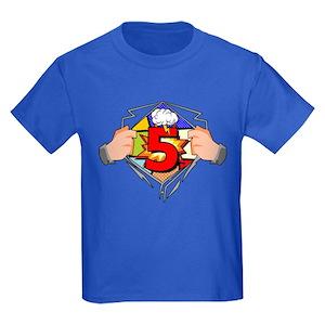 Superhero Birthday T Shirts