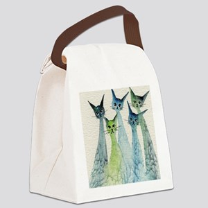 Lakeland Stray Cats Canvas Lunch Bag
