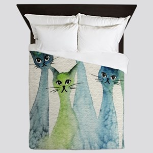 Lakeland Stray Cats Queen Duvet