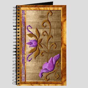 Harvest Moons Zen Embroidery Journal