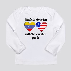 Made In America With Venezuelan Parts Long Sleeve